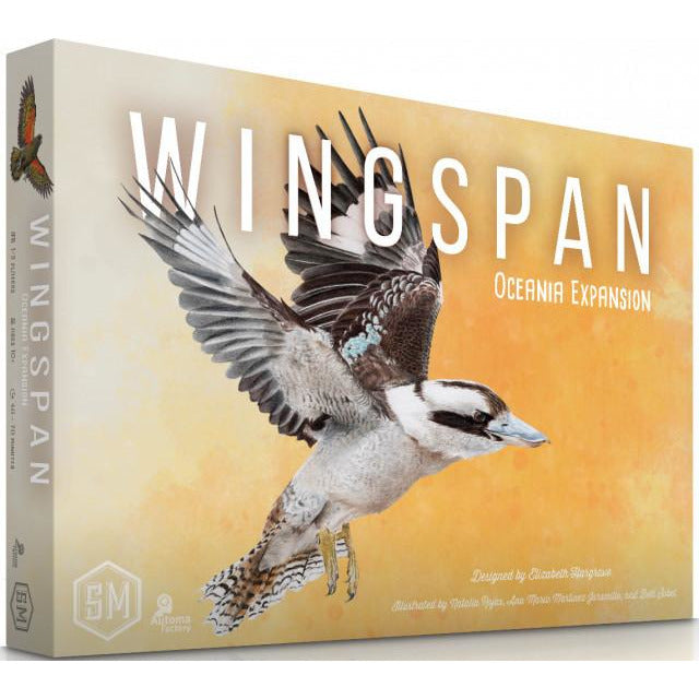 "Wingspan Oceania Expansion - Preorder Deposit, Board Game, Age_8-10 years, Category_Expansion, Category_Solo, Category_Strategy, Elizabeth Hargrave, Mechanic_Dice Rolling, Mechanic_Hand Management, Mechanic_Set Collection, New Zealand, Stonemaier Games, ""board games"", ""Hobby Games"", Hobby Games"