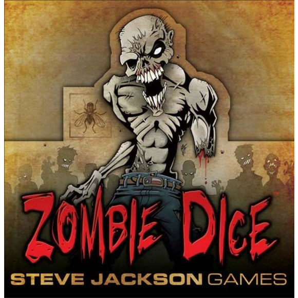 "Zombie Dice, Dice Game, Age_10+, Age_Adult, Age_Teen, Category_Party, Dice, Mechanic_Dice Rolling, Mechanic_Press Your Luck, ""board games"", ""Hobby Games"""