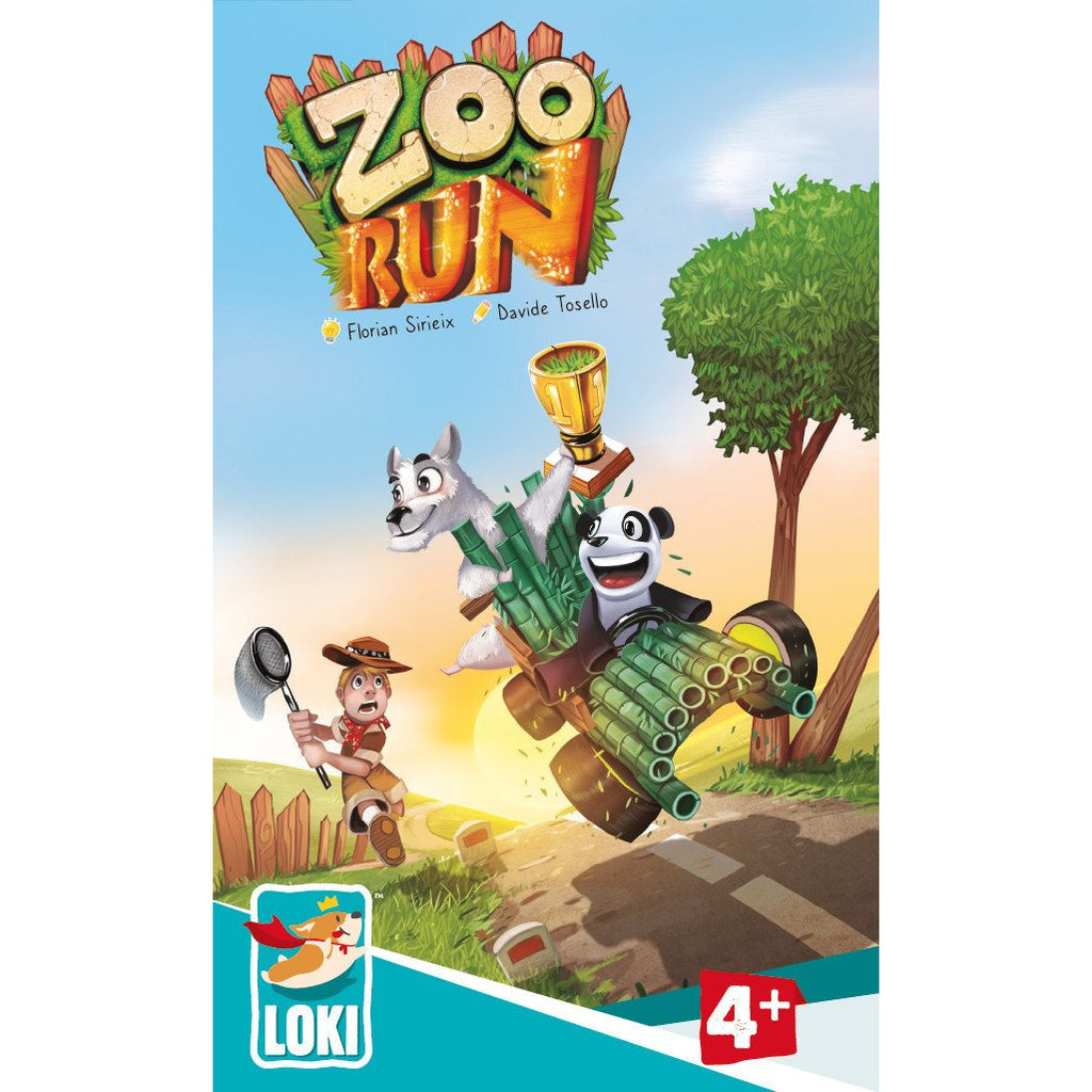 "Zoo Run, Board Game, Age_Preschool, Animals, Category_Childrens, Category_Cooperative, Category_Solo, Davide Tosello, Florian Sirieix, Loki, Mechanic_Cooperative, Mechanic_Pattern Recognition, Mechanic_Tile Placement, ""board games"", ""Hobby Games"", Hobby Games"