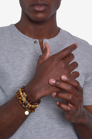Spotlight on: Tiger's Eye Bracelets for Men