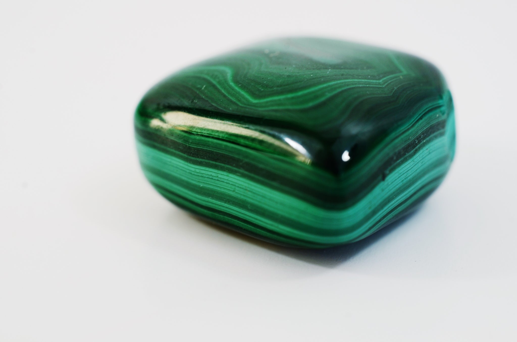 Malachite helps you make your own luck this St. Patrick's Day