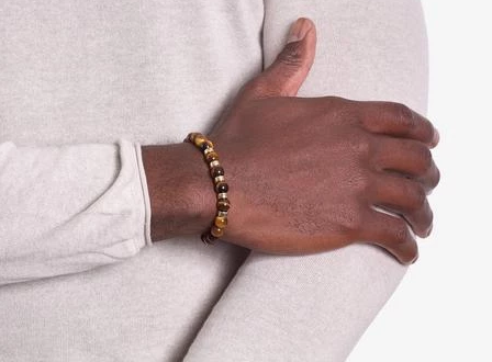 Tiger's Eye men's bracelets