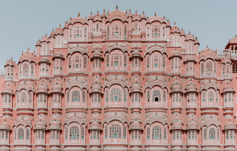 Jaipur architecture Pink City