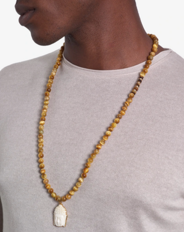 mens necklaces yellow ledbetter