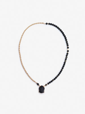 Change - Onyx Buddha Necklace