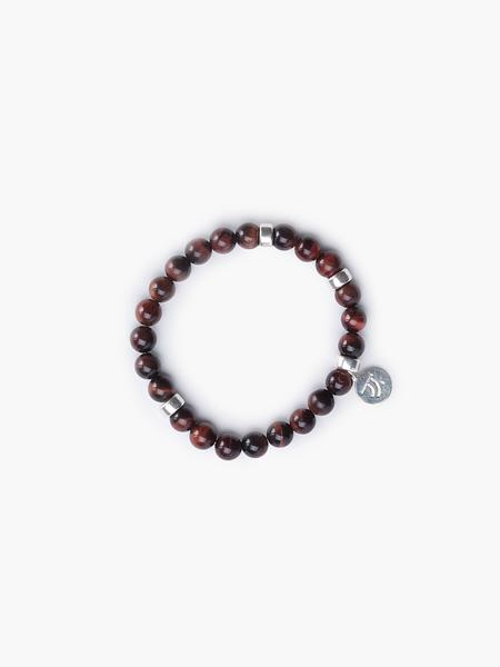 Closer - Men's Red Tiger's Eye Bracelet