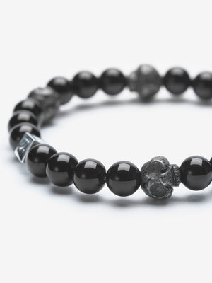 Creep - Skull Pyrite Stackable Bracelets
