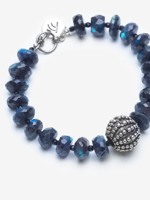 Mystic Blue - Midnight Blue Labradorite Bracelet