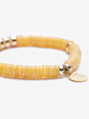 Plush - Yellow Jade Gold Bracelet