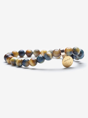 Give It Away - Golden Blue Tiger's Eye Bracelets