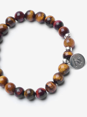 Hunger Strike - Brown and Red Tiger's Eye Bracelet