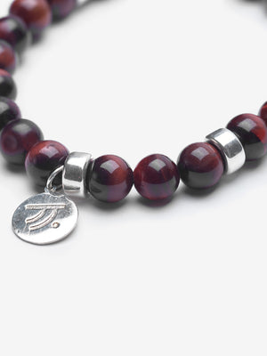 Closer - Red Tiger's Eye Bracelet