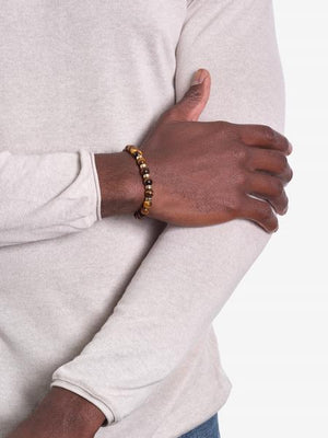 No Excuses - Tiger's Eye Bracelet