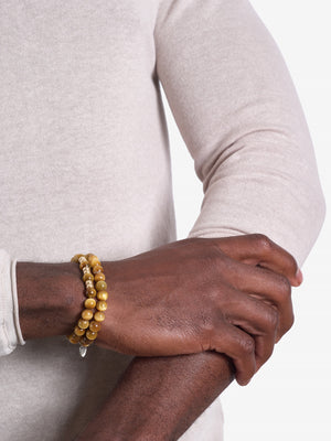 Yellow Ledbetter - Tiger's Eye Bracelet