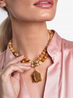 Golden Buddha Necklaces