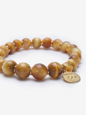 Harmonious - Golden Tiger's Eye Bracelet