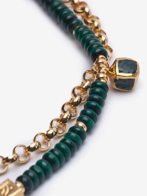 Brené Malachite Necklace