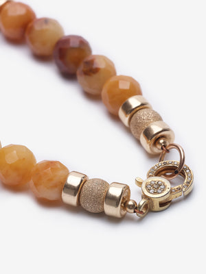 Golden Jade Buddha Necklaces