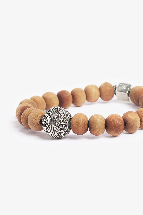 Happy Buddha Sandalwood Bracelet