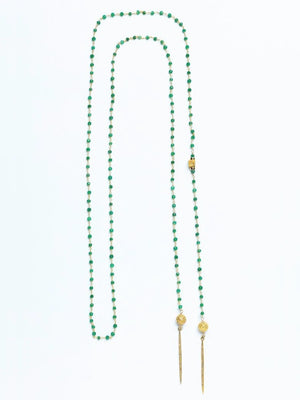 Green Lahza Abadia - Endless Point in Time Lariat