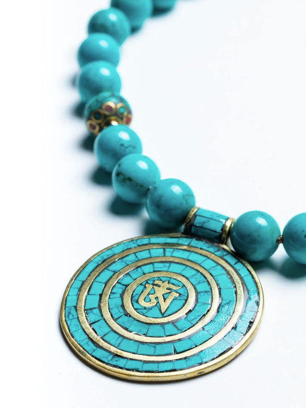 Everything Turquoise OM Necklace