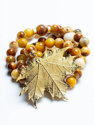 Golden Fall Necklace