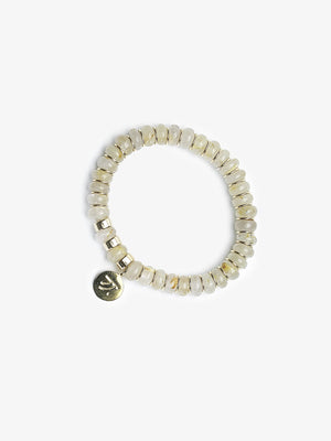 Golden Quartz Stackable Bracelets