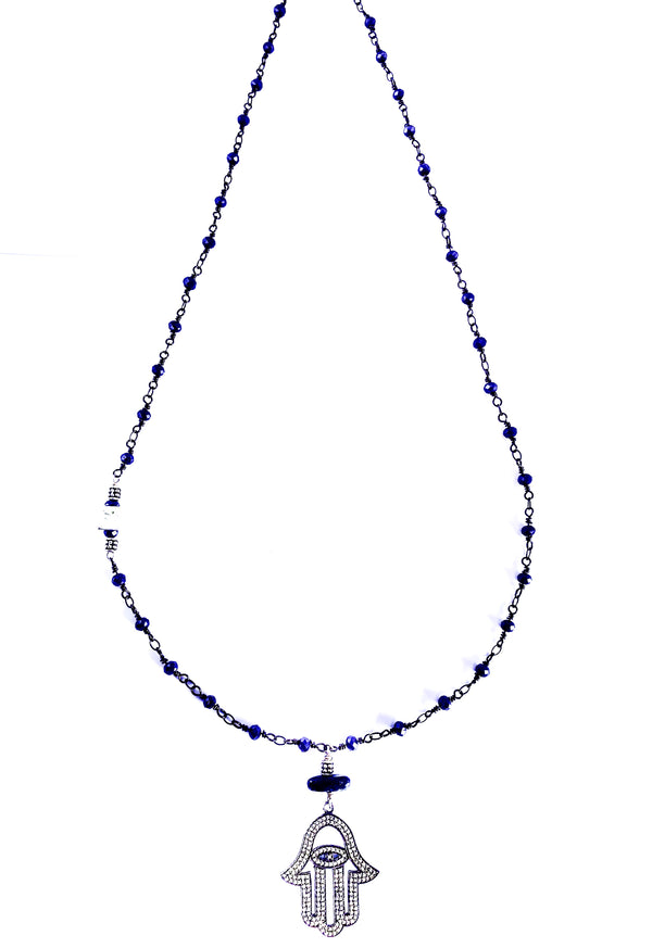 Blue Fortune Lapis Necklace
