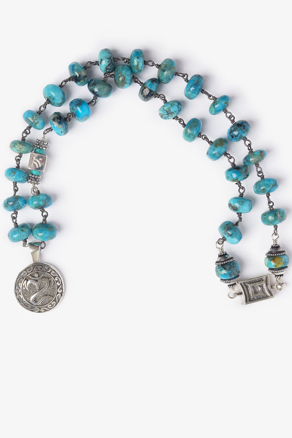 Pantai OM Turquoise Necklace