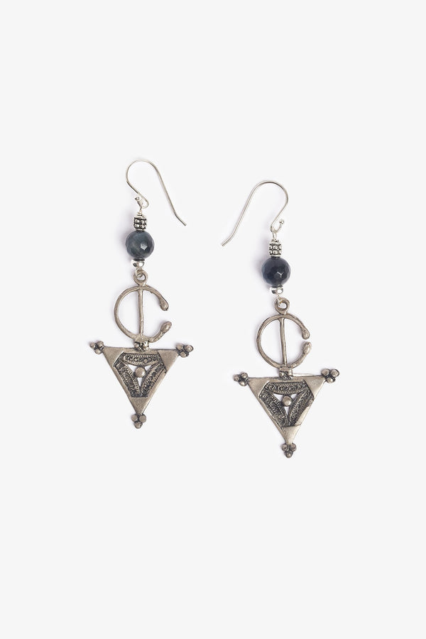 Berber Silver Earrings
