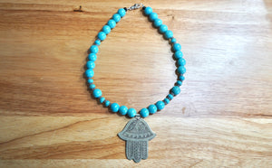 Make Your Necklace - Turquoise Ocean