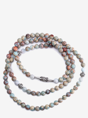 Jasper Mala Necklace | Jada Jo