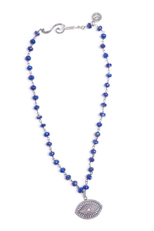 Eye of Lapis Necklace