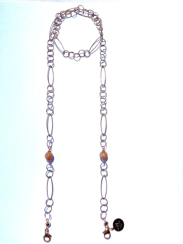 Face Mask Chain - Rose Gold