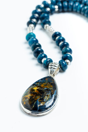 Austin Pietersite Neckace - One of a Kind