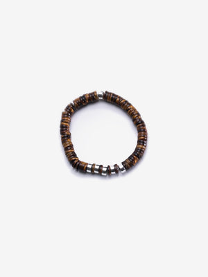 Tiger - Tiger Eye Mens Bracelet | Jada Jo