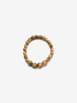 Harmonious Eye - Golden Yellow Tiger's Eye Bracelet | Jada Jo
