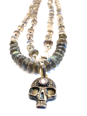 Life and Hope Labradorite Necklace