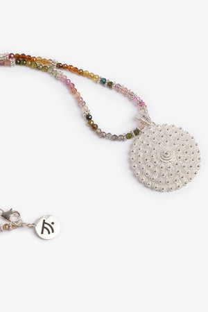 Rainbow Love Necklace - Medium