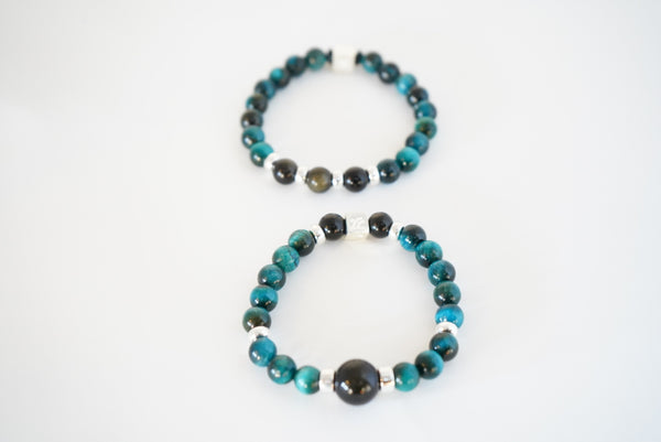Turquoise Tigers Eye Stance Bracelet(s)