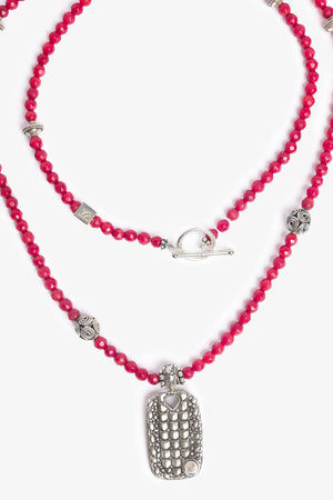 Bambuh Red Coral Necklace
