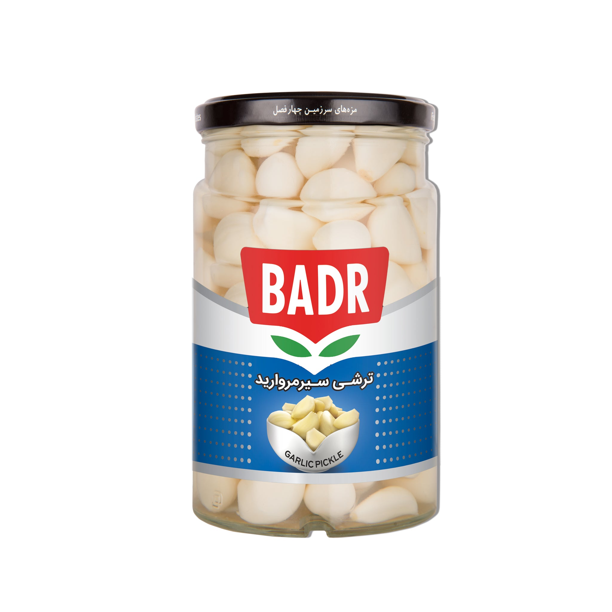 Badr Peeled Garlic Pickle