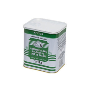 Krinos Bulgarian White Brined Sheep's Milk Cheese  - 1Kg