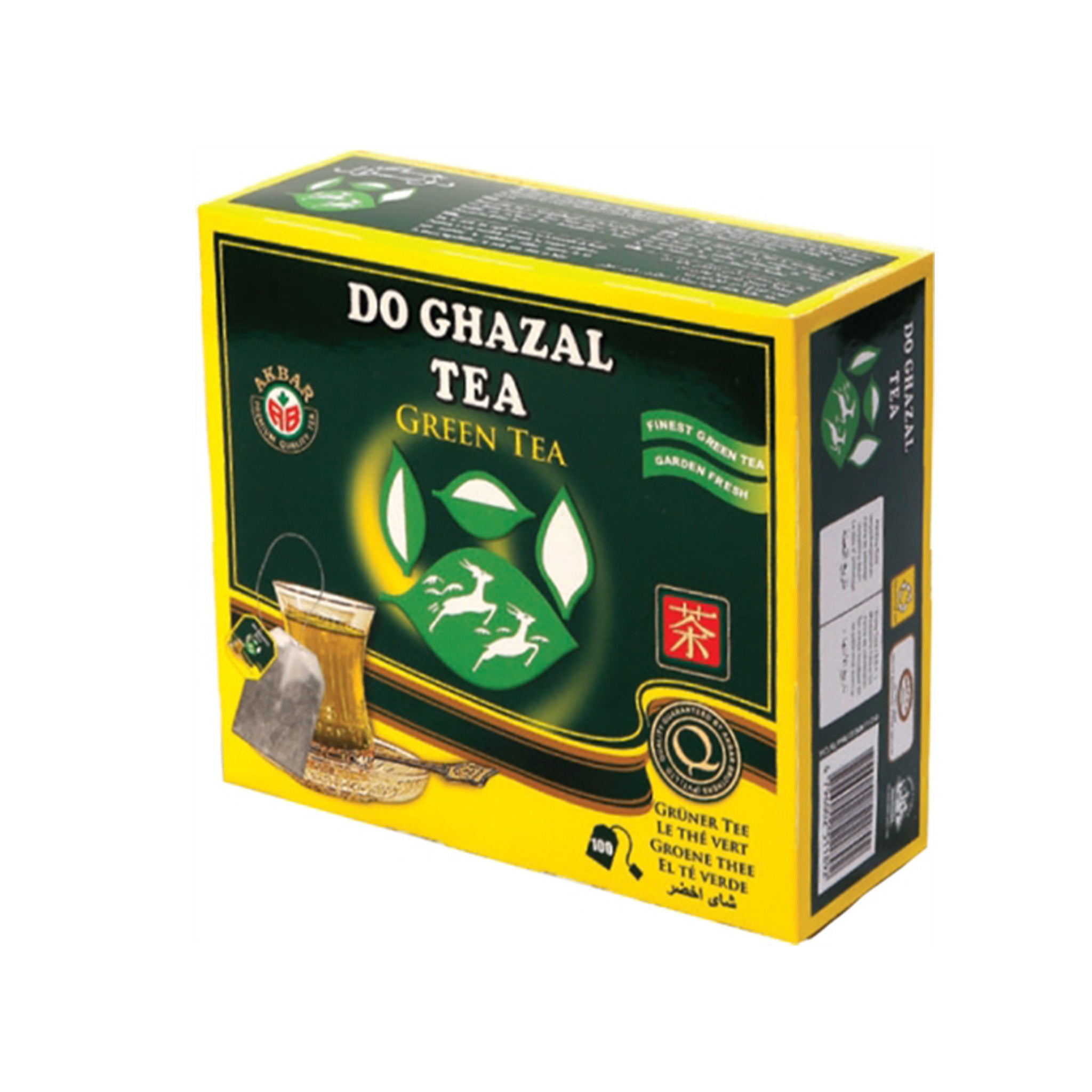 Do Ghazal Green Tea - 100  Tea Bags