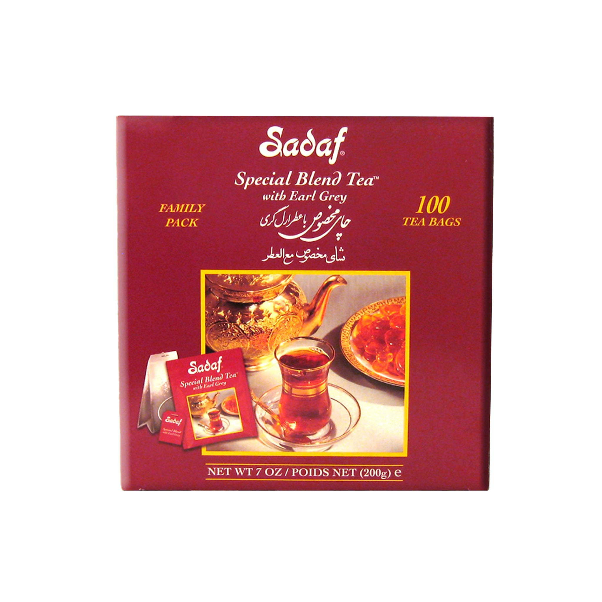 Sadaf Special Blend Earl Grey Tea Bag