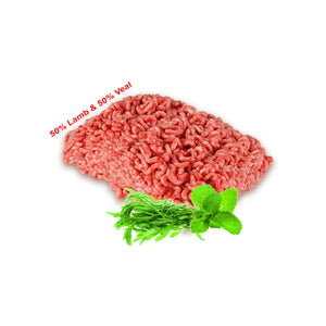 Ground Lamb & Veal (50% Veal & 50% Lamb) /lb