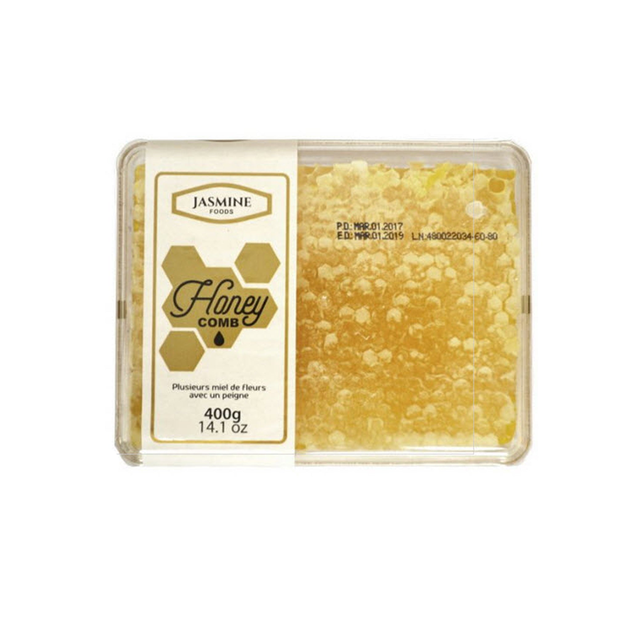 Jasmine Honey Plate Comb 400g