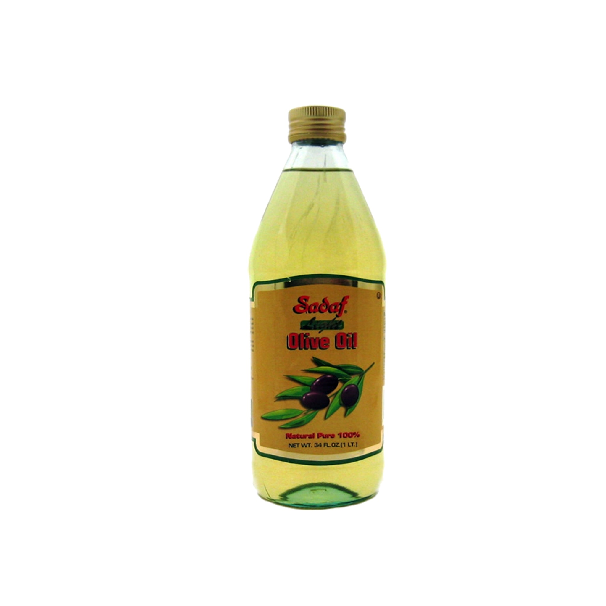 Sadaf Light Olive Oil 1L