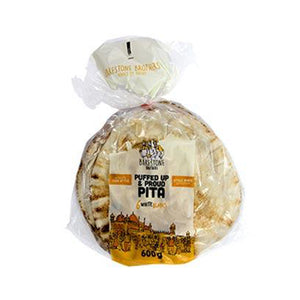 Pita Bread White Large  - 600g