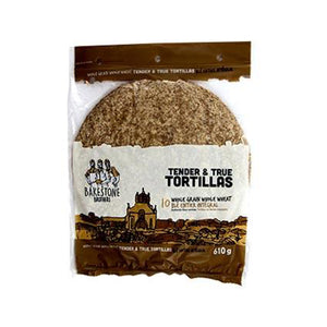 Tender & True Tortillas – Whole Grain Whole Wheat 610g